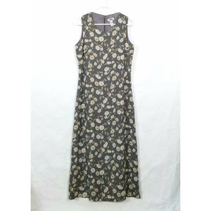 Old Navy Long Summer A-Line Floral Sun Dress